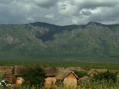 Usambara View  Near The Village