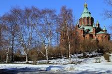 Uspenski Cathedral After Snowfall - Helsinki