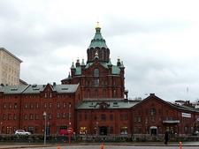 Uspenski Cathedral - Sea-Front View - Helsinki Finland