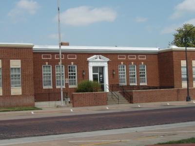 U.s. Post Office In Pratt Kansas
