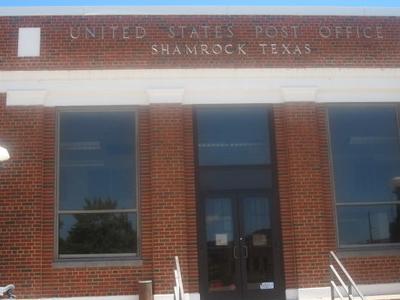 U . S .  Post  Office   Shamrock