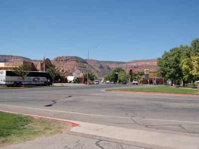 U.S. Route Through Kanab
