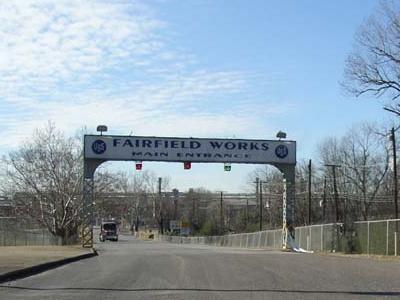U .  S .  Steel  Fairfield  Works In  Fairfield   Alabama