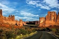 UT Arches NP Landscape
