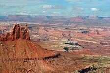 UT View Canyonlands NP Landscape