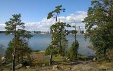 Uutela Coastal Landscape Near Helsinki - Finland