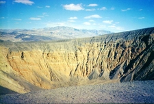 Ubehebe Crater In Springtime