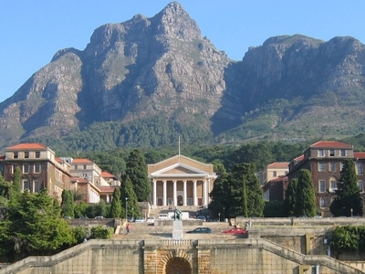 A View Of University Of Cape Town