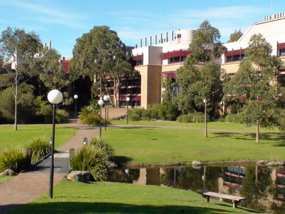 The Science Buildings At The Wollongong Campus