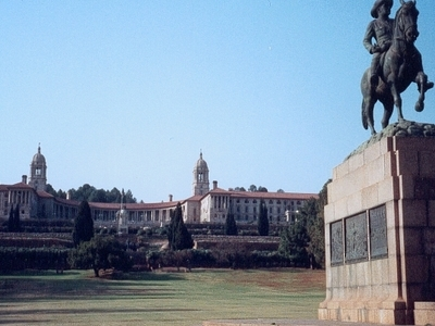 Statue At Union Buildings