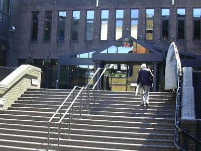The Main Entrance Of Union Jack Club
