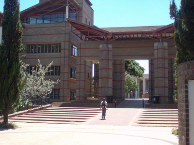 Entry To Central Campus From The West