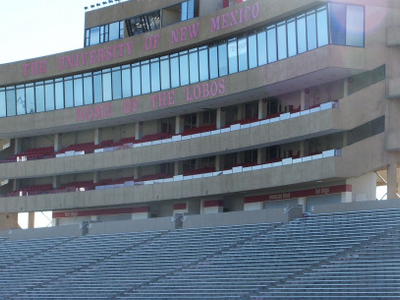 University Stadium Press Box