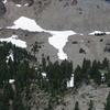 Vulcan's Eye On Lassen Peak From Lake Helen