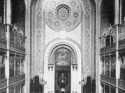 Inside View Of The Leopoldstädter Tempel