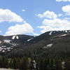 Vail Ski Resort From Frontage Road