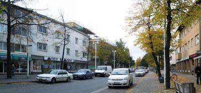 Main Shopping Street Of Valkeakoski