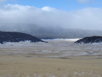 Cerro La Jara In Winter