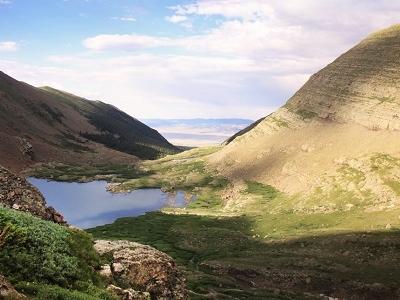 Valley In Sangre De Cristo Mountains CO