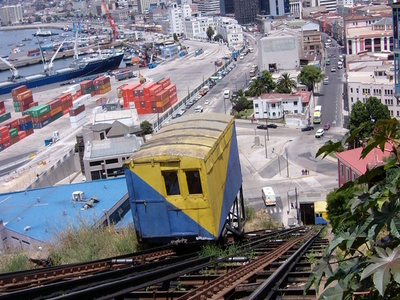 Funicular In Valparaíso