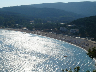 Panoramic View Of Valtos Beach