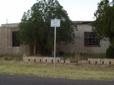 Van Horn City County Library