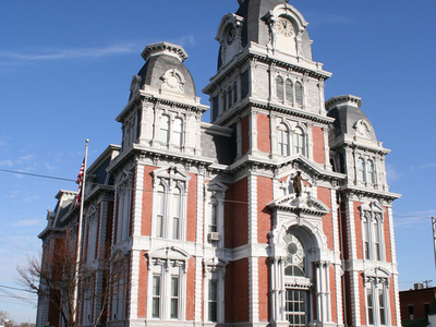 Van  Wert  Ohio  Courthouse