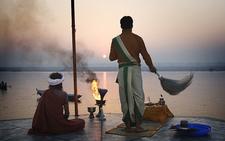 Varanasi Sun Greet