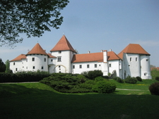Varazdin Castle In The Old Town
