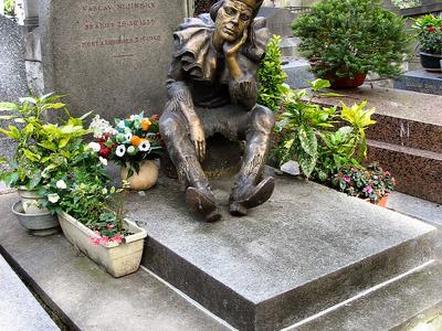Vaslav  Nijinsky Tombstone