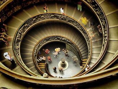 Vatican Museum Spiral Staircase
