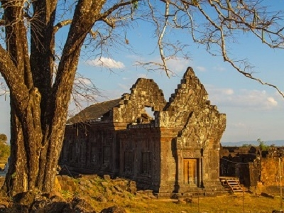 Vat Phou Or Wat Phu Archaeological Ruins