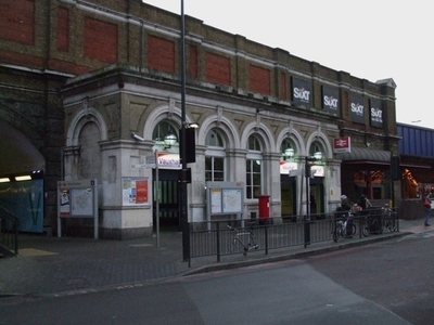 Vauxhall Station Building