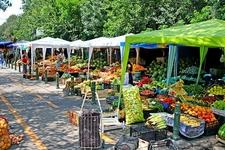 Vegetable & Fruit Market In Bucharest