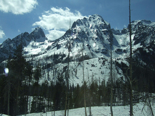 Veiled Peak - Grand Tetons - Wyoming - USA