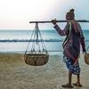 Vendor @ Tajpur Beach WB