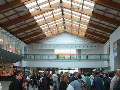 Venice Marco Polo Airport Check-in-Area