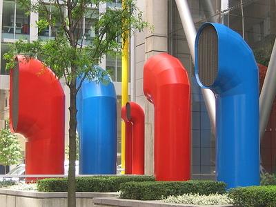 Ventilation Funnels At 88 Wood Street.