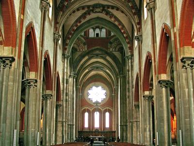Vercelli Sant Andrea Interno