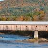 Vermont Fall Covered Bridge