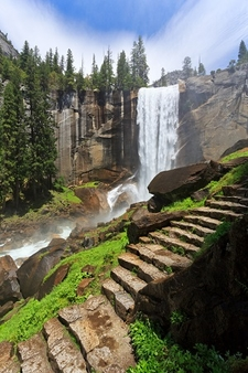 Vernal Fall - Yosemite National Park CA