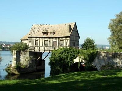 Old Mill On The Broken Bridge