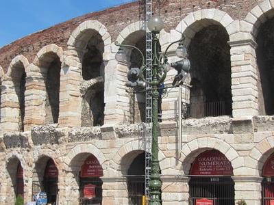 Verona     Roman Arena Exterior