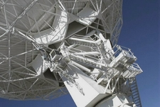 Very Large Array Dish Detail