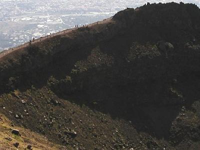 Vesuvius Crater Wall