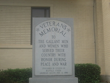 Veterans Memorial At Bienville Parish Courthouse