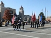 Veterans Day Parade Down Grand Avenue In Front Of The Ponca City
