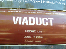 Viaduct Info Plaque - Old Coach Road