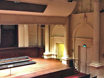 The Interior Of Victoria Theatre
