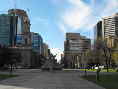 Victoria Square Looking North